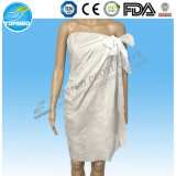 Устранимый Nonwoven Bathrobe Spunlace для Unisex