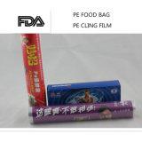 Le PE frais s'attachent film d'extension transparent d'enveloppe de rétrécissement de film