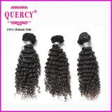 Weave não processado de venda quente do cabelo da onda de Jerry de 8 polegadas de 100%