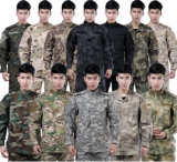 Exército de camuflagem Polígono Airsoft Uniforme de combate ACU.