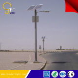 높은 광도 80W 태양 거리 조명 시스템