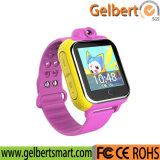 Gelbert nuevo G75 3G embroma el reloj elegante del GPS para la seguridad de los cabritos