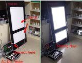 2016 Top vender &CFL Demo de luzes LED caso --- AC Lux Medidor de Energia Dupla (LT-SM922)