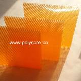 Nid d'abeilles en plastique économiseur d'énergie 6.0 Panneau-Oranges