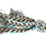 Acrylic напечатанный таможней и смешанный шерстями шарф для повелительницы