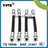 1/8 pouce Fmvss tressé flexible 106 lignes de boyau de frein hydraulique