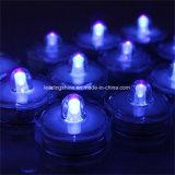Wasserdichte kleine batteriebetriebene Mikromini-LED-versenkbare Mehrfarbenlichter für Partei-Dekoration-Blumen-Form