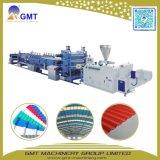 PVC 물결 모양 루핑 장 도와 위원회 플라스틱 압출기 기계