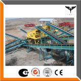 Chaîne de production portative de concasseur de pierres de machine d'or