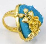 2016 نمو مجوهرات [ستينلسّ ستيل] نوع ذهب حجارة حلقة