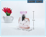 Покрашенная пинком бутылка брызга дух стеклянная для повелительницы 50ml