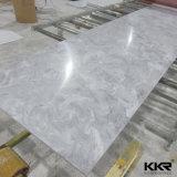 Surface solide acrylique blanche de glacier pour le dessus de vanité