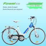 700c Jobstepp-Durch elektrisches Fahrrad mit schnelle Freigabe-Batterie