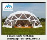 Neues angekommenes kundenspezifisches Hochzeitsfest-Zelt der Geodäsieabdeckung-2017