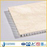 Calcaire naturel face aluminium panneau composite Honeycomb