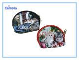 개와 고양이 애완 동물은 작은 동전 지갑을 디자인한다