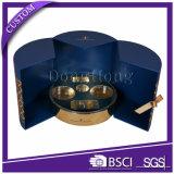 Ramadanの好意の香水ボックスを包む円形の管の堅いギフト