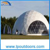 Tienda geodésica de la pequeña bóveda al aire libre para el acontecimiento