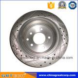 rotors de disque de frein arrière de la qualité 432068j102 pour Nissans