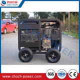 Krachtige Enige Fase van de diesel Motor van de Generator de Lucht Gekoelde
