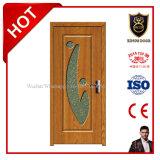 Usine en bois de porte intérieure de la Chine de certificat de la CE