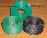 Fio recozido preto interno revestido Factory/PVC revestido do fio do ferro do PVC da fonte de Dingzhou
