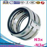 Selo mecânico N3X-N3X apropriado para perigoso, tóxico, inflamável, altamente abrasivo, líquidos gasosos
