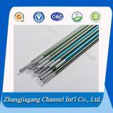 6063 цветастых анодированных малых трубы алюминия Dia