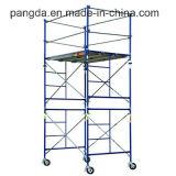 China schilderde het Systeem van de Steiger van het Frame van H voor Bouw