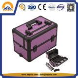 紫色のダイヤモンドの構成の箱Wilは滑らせた皿(HB-6307)を