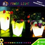 Eclaté Outdoor Shining LED Flowerpot