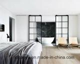 Insonorisées Vitre coulissante de porte en aluminium Chambre intérieure construit de diviseur