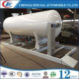 De mobiele 5ton Tank van LPG van het Benzinestation 10ton van LPG met Steunbalk
