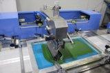3 Farben-Baumwollkennsatz-automatische Bildschirm-Drucken-Maschine mit Gehäuse