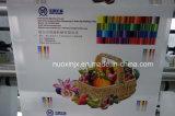 Flexo de 4 colores maquinaria de impresión gráfica con PLC