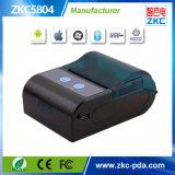 impressora térmica de Bluetooth do Portable de 58mm para a impressão do recibo do restaurante