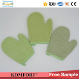 Bambusfaser-Exfoliating Handschuh BADEKURORT Softtextile Bad-Handschuh