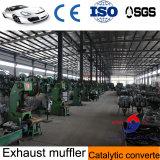 Silenziatore dello scarico dell'automobile di fabbricazione del cinese con acciaio inossidabile 409