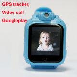 Relógio video Android do GPS do atendimento 3G para miúdos
