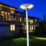 Homologation solaire de FCC RoHS de la CE de lumière de voie de jardin du prix bas DEL