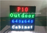 Indicador video ao ar livre impermeável que anuncia o diodo emissor de luz Creen de SMD3535 P10 P6 P8