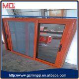 Aluminiumrahmen-überzogene hölzerne Farben-schiebendes Fenster