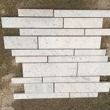 Mattonelle di mosaico di marmo bianche di Carrara di migliore qualità per la cucina Backsplash & la stanza da bagno
