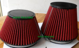 140mm Hauteur 6inch PU Rouge Auto Car Air Filter Pipe