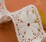 Polyester-Gewebe-Textilbrautzutat-Rand-Spitze Nigeria-Dubai