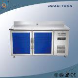 Refrigerador comercial del congelador de refrigerador del acero inoxidable