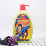 sciampo & condizionatore del superman 2-in-1 per capelli e pelle lucidi molli