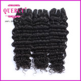 最もよい束の毛のアクセサリの高品質のインドの毛のレースの閉鎖ボディ波のバージンの毛(DW-033b)