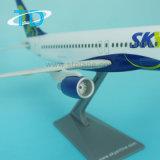하늘 A319 1/100 가늠자 항공기 모형 고급 사업 선물