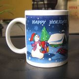 재미있은 11oz 크리스마스 가정에게 마시기를 위한 세라믹 커피잔